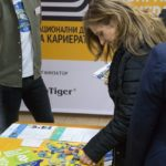 Невена Петкова и Мария Пенева присъстваха на кариерно изложение