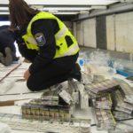 Иззеха два мастербокса контрабандни цигари