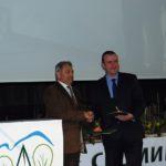 Зам.-директорът на СЦДП – Габрово инж. Бонев с награда за цялостен лесовъдски принос