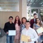 """Ученици от ПТГ """"Д-р Никола Василиади"""" с голям успех на състезание"""