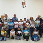 Зрелостниците на Детското полицейско управление получиха дипломите си