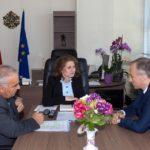 Областният разговаря с министър Вълчев за кариерното ориентиране