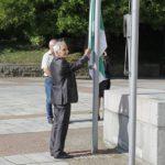 Арх. Меразчиев издигна знамето за Празника на Габрово (снимки)