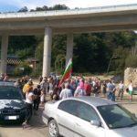 """Габровци протестираха заради лошото състояние от бул.""""Никола Вапцаров"""""""
