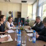 Беларуският посланик проведе среща с областния на Габрово