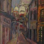 """""""Пейзаж от Париж – Монмартр"""" е акцент в Галерията през януари"""