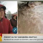 Строителството на Обхода на Габрово наводнява квартал Радецки! (видео)