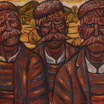 """Картината """"Трима селяни"""" на Стоян Венев е акцент в Галерията"""