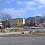 Нова организация на движението в района на новото кръгово пред гарата