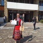 Ученичка на Цветан Радков с първа награда от конкурс в гр. Котел