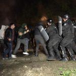 Сблъсъци с жандармерията на протеста в Габрово (снимки 18+)