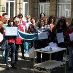 Габровските медицински специалисти излязоха отново на протест