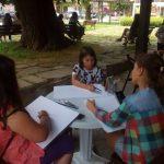 Деца рисуват Възрожденската архитектура на Габрово
