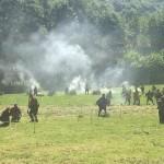 Възстановка на сраженията в месността Боазът (снимки)
