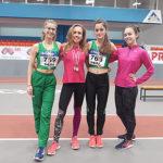 """Четири медала за лекоатлетките на """"Орловец-93"""" от НШ"""