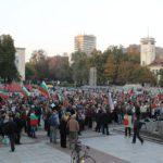 Габровци на протест в подкрепа на доктора, застрелял Жоро Плъха